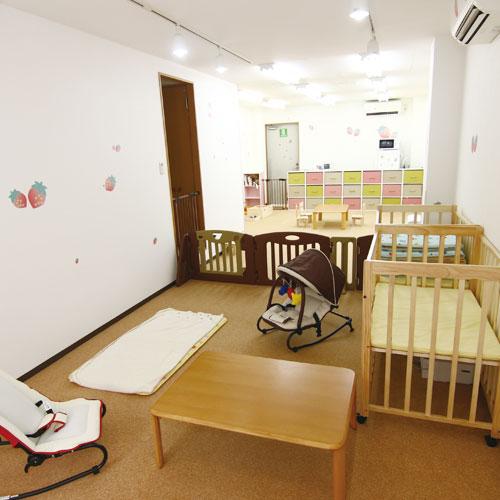 いちご保育園の内観写真赤ちゃんエリア